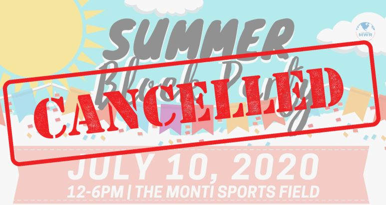 Summer Block Party - CANCELLED