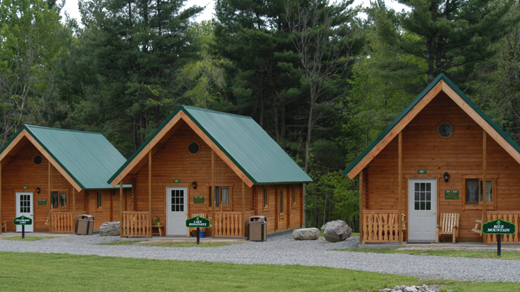 is in summer cabins the campsites pines welcome angie adirondack anytime are riverside camping s during ny to same frame our time public n restaurant hours come operating cabin daily