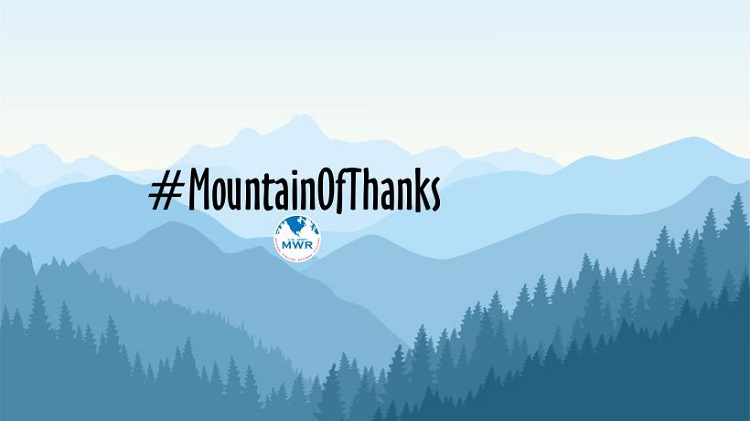 #MountainOfThanks