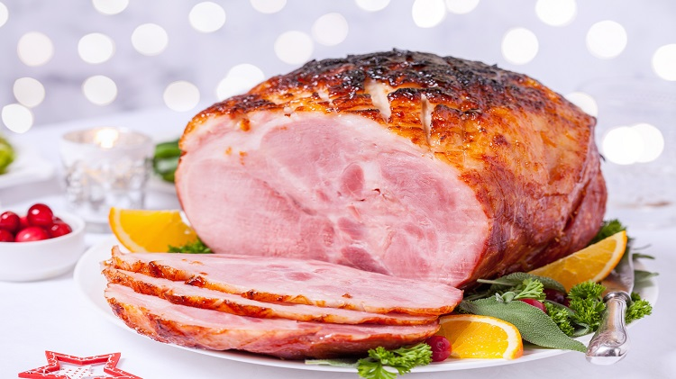 Holiday Ham Buffet Luncheon